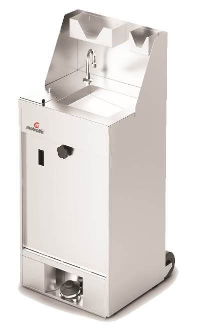 MS502 Mobile Hand Wash Station (heated)